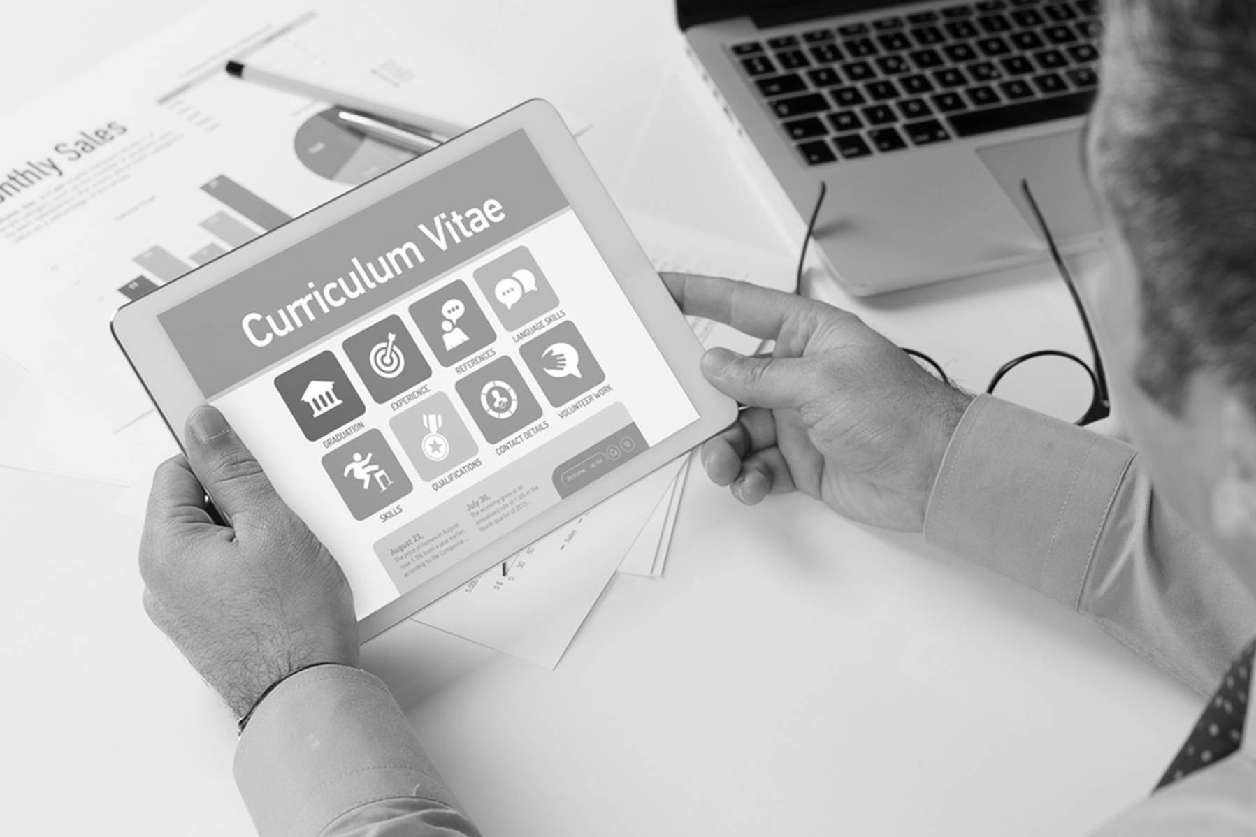 Claus Michael Sattler - Curriculum Vitae in Kurzform als eBook